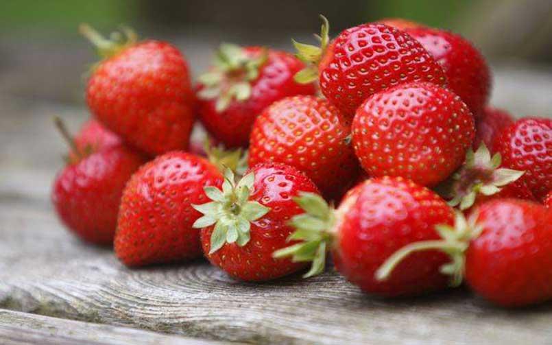 Les vertus de la fraise